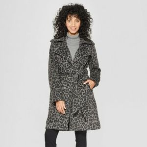 A New Day Leopard Print Coat